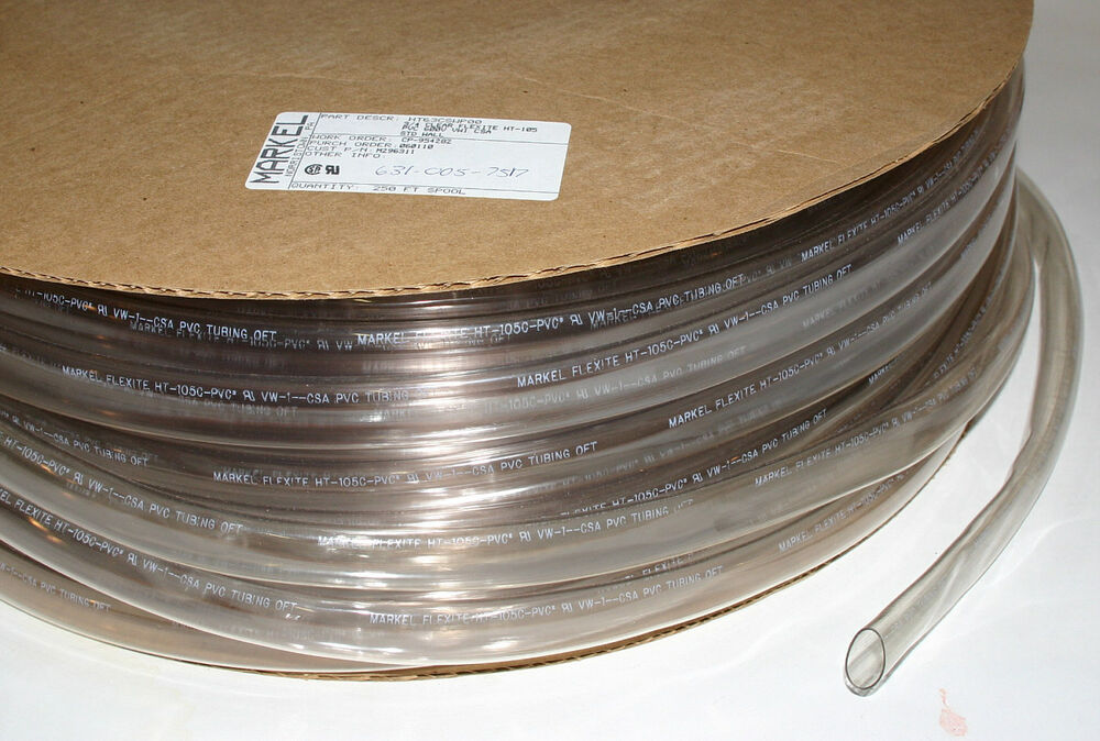 Sleeving Markel 3 4 Quot Clear 250 Spool Ebay