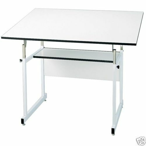 alvin workmaster drafting drawing table w 37 5x60 quot top ebay