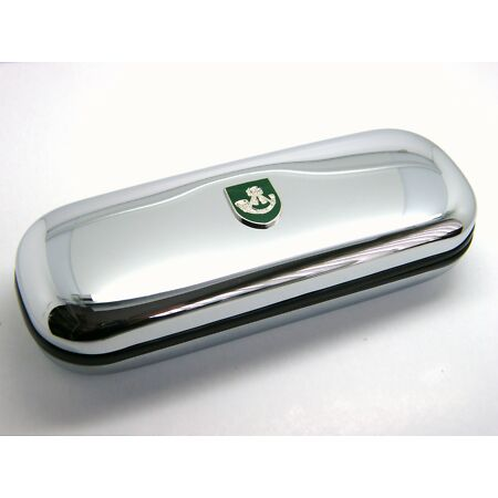img-THE LIGHT INFANTRY ARMY BADGE CRESTED GIFT CHROME GLASSES PEN OR DARTS CASE