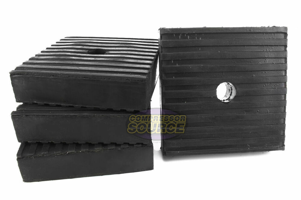 4 Pack Anti Vibration Pads For Air Compressor Or Equipment