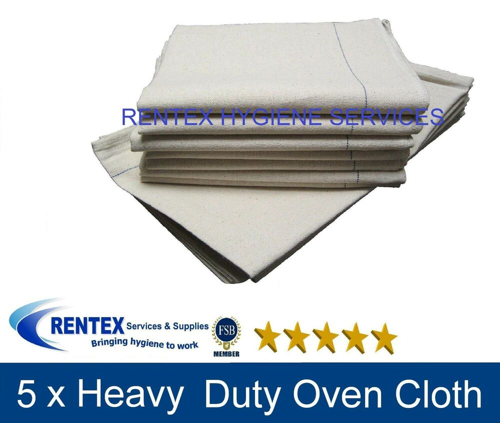 Heavy Duty Cloth : Catering cloth large heavy duty towel oven cloths kitchen