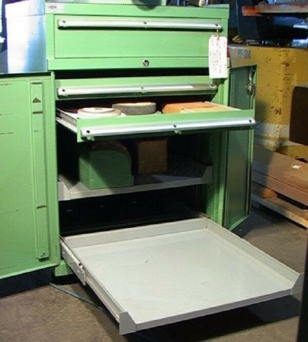 3-Drawer 2-Shelf Bench-Top Type LISTA Tooling Cabinet