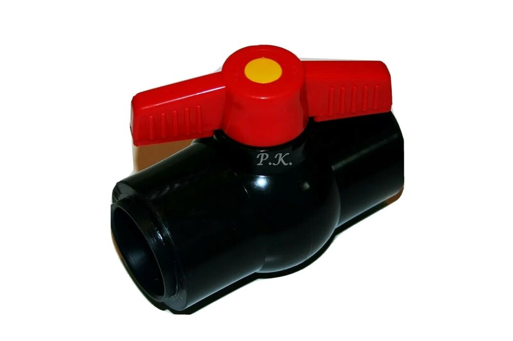 1 5 ball valve solvent weld pipe fitting 43mm id filter for Pond filter pipe