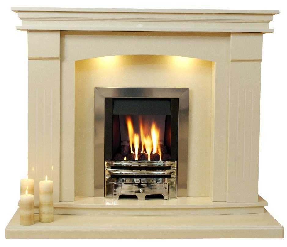 Sheridan Marble Fireplace Surround 54 Or 48 Inch Wide Ebay