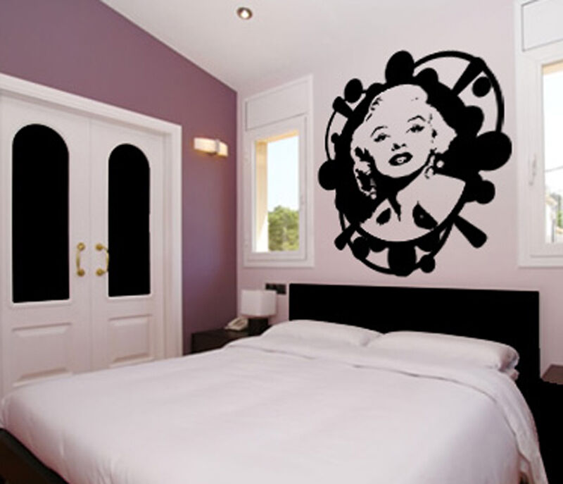 Marilyn Monroe Norma Jean Vintage Wall Art Decor Decal Ebay