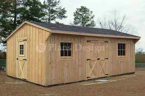 12 39 x 18 39 garden structures saltbox shed plans material for Salt shed design