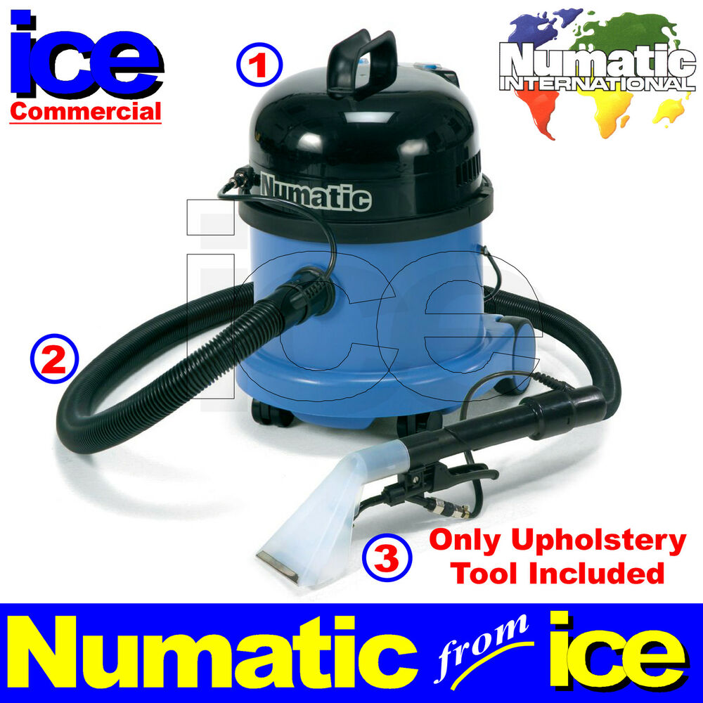 numatic professional car carpet upholstery wet vacuum cleaner equipment machine ebay. Black Bedroom Furniture Sets. Home Design Ideas