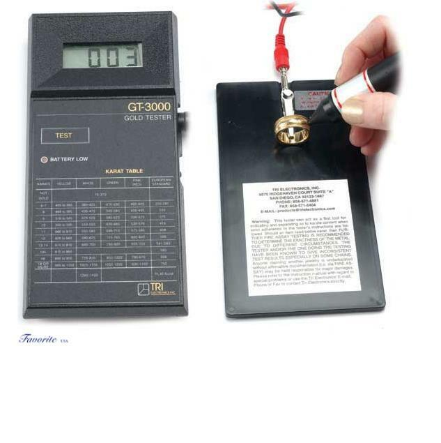 New Electronic Gold Tester : Electronic gold tester gt by tri electronics new ebay