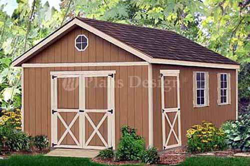 Outdoor structure 20 x 12 yard storage building gable for Backyard storage shed plans