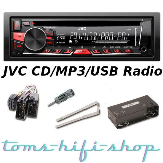 jvc cd usb mp3 autoradio opel astra f g corsa a b omega. Black Bedroom Furniture Sets. Home Design Ideas