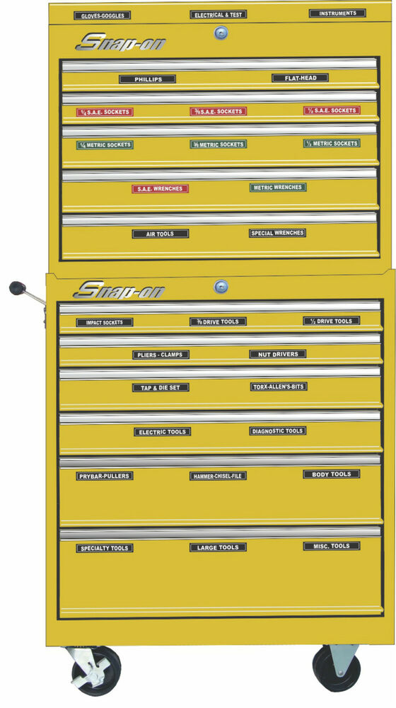 Adhesive Toolbox Labels Fits All Craftsman Tool Boxes Ebay