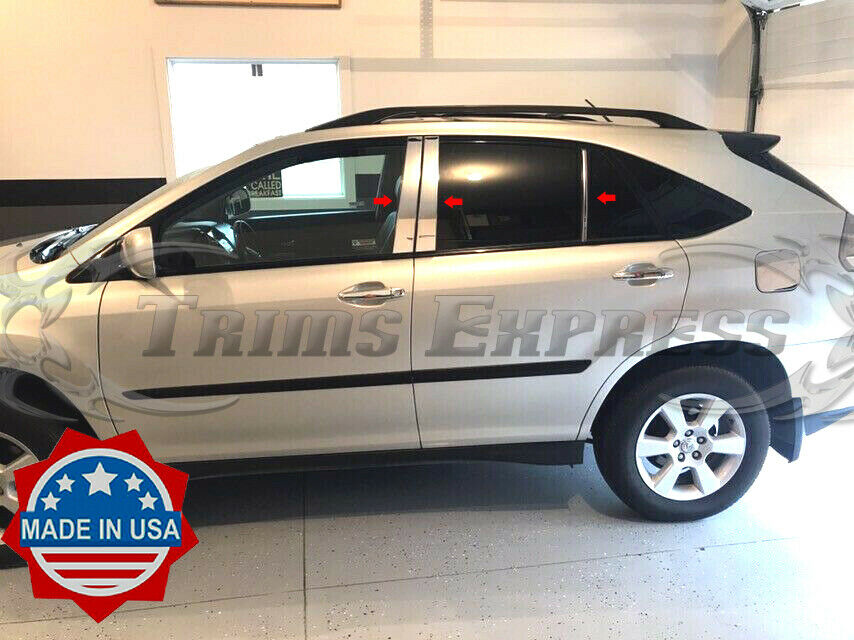 2004 2009 lexus rx 330 350 6pc chrome pillar post. Black Bedroom Furniture Sets. Home Design Ideas