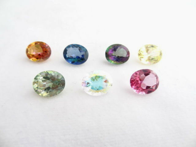 Loose 12x10mm Oval Mystic Topaz ~7 Colors Available! | eBay