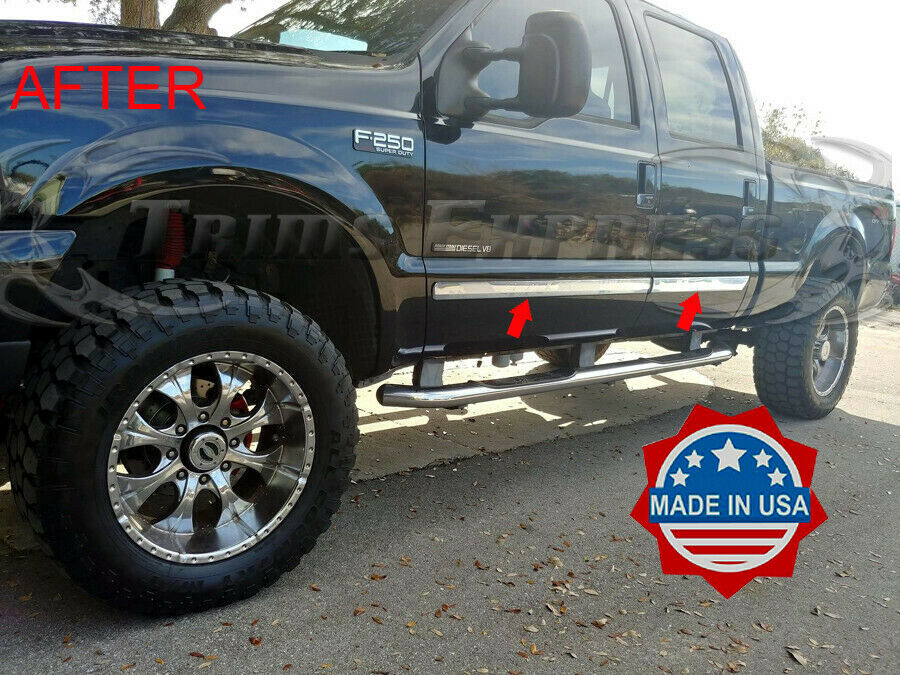 03 07 Ford Super Duty F 250 350 Body Side Molding Trim