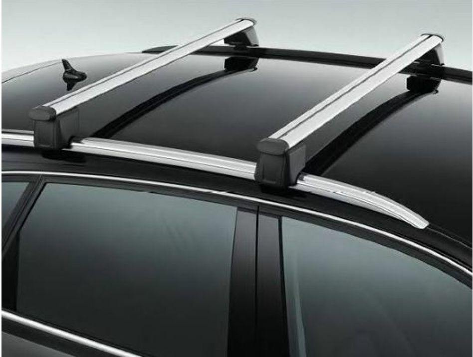 genuine audi q5 roof bars 2009 2012 ebay. Black Bedroom Furniture Sets. Home Design Ideas