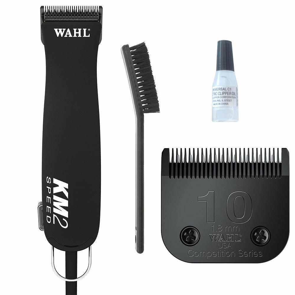 wahl km2 professional 2 speed clipper km 2 for dog pet grooming ebay. Black Bedroom Furniture Sets. Home Design Ideas