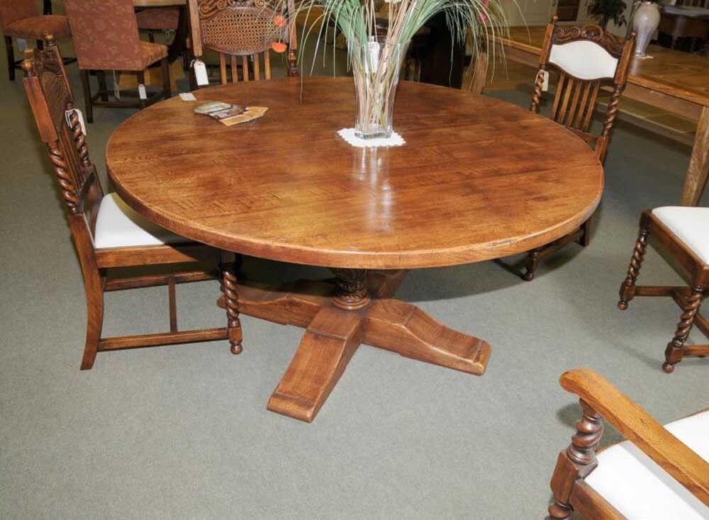 round country kitchen table country oak refectory table kitchen ebay 4886