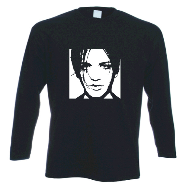 Brian molko placebo tribute long sleeved t shirt s xxl ebay for Xxl long sleeve t shirts