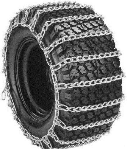 rud garden tractor snow tire chains 2 link gt1301 ebay. Black Bedroom Furniture Sets. Home Design Ideas