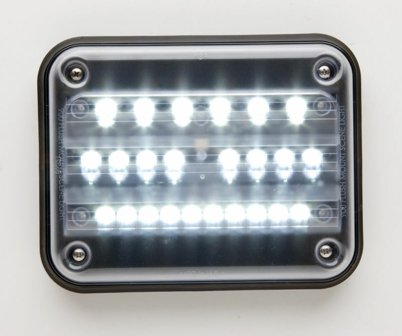 whelen 900 series led scene light - 9sc0enzr