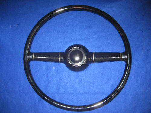 1940 ford dlx original style steering wheel ebay. Black Bedroom Furniture Sets. Home Design Ideas