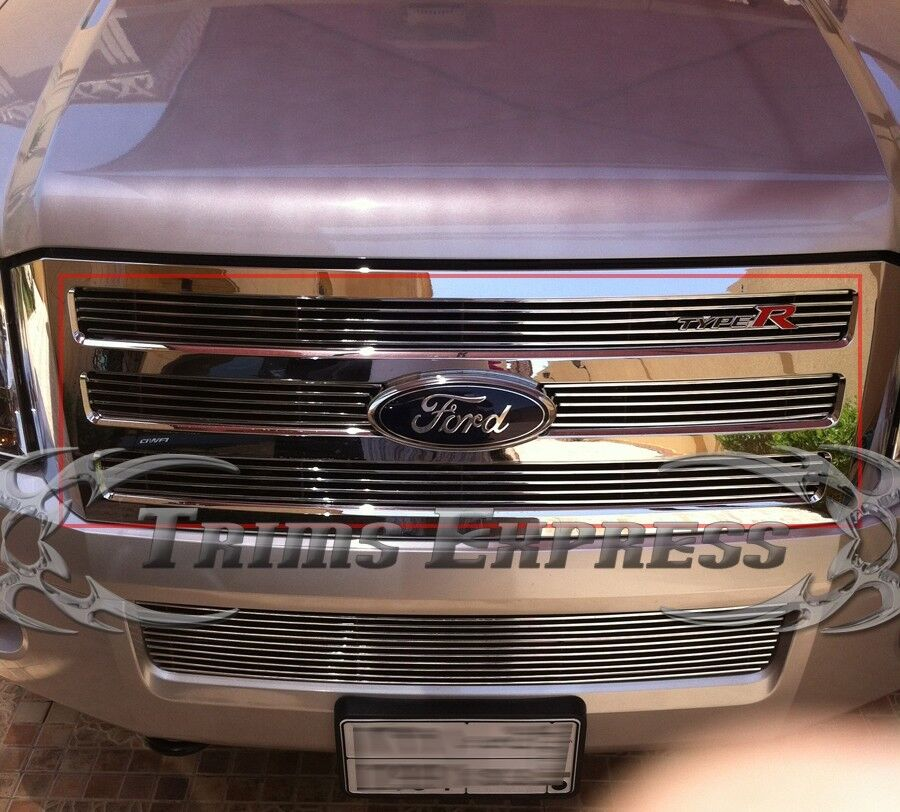 Ford Expediton: 2007-2014 Ford Expedition Boltover Billet Grille-Upper