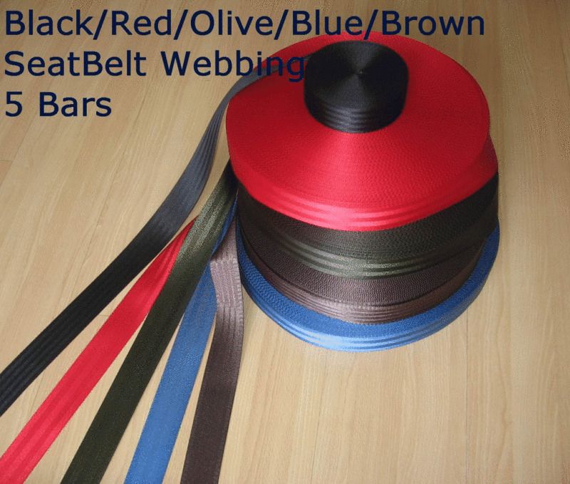 100 Ft ROLL 2 quot SEAT BELT SAFETY