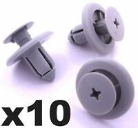 10x 8mm Wheel Arch Lining Clips for Honda Mazda Toyota