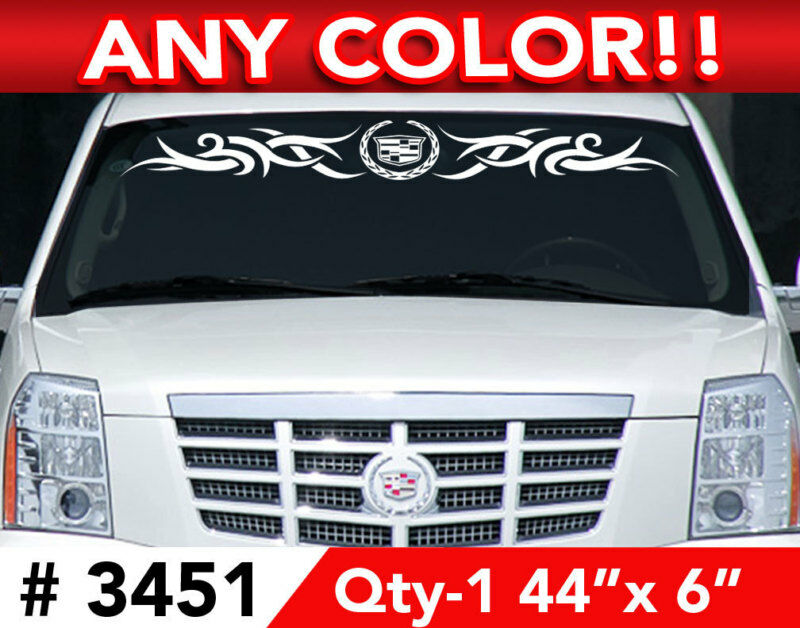 Cadillac Escalade Cts Sts Tribal Decal Sticker 44 Quot X6 Ebay