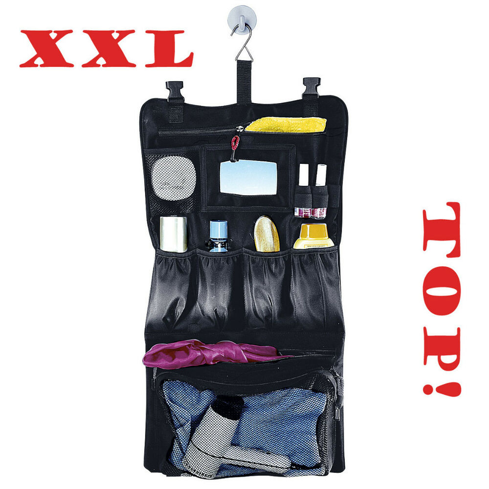 super xxl kulturbeutel zum aufh ngen kulturtasche waschbeutel waschtasche neu ebay. Black Bedroom Furniture Sets. Home Design Ideas