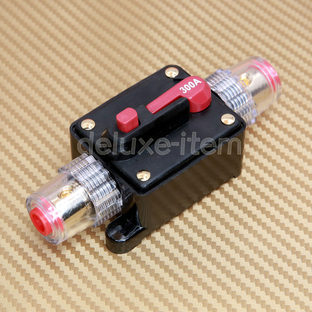 Inline Circuit Tester : Car stereo audio circuit breaker replace fuse v dc
