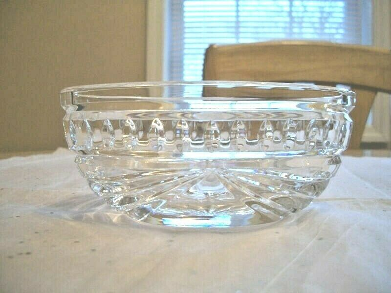 Waterford Crystal Overture Oval 5 Inch Bowl Dish Mint Ebay