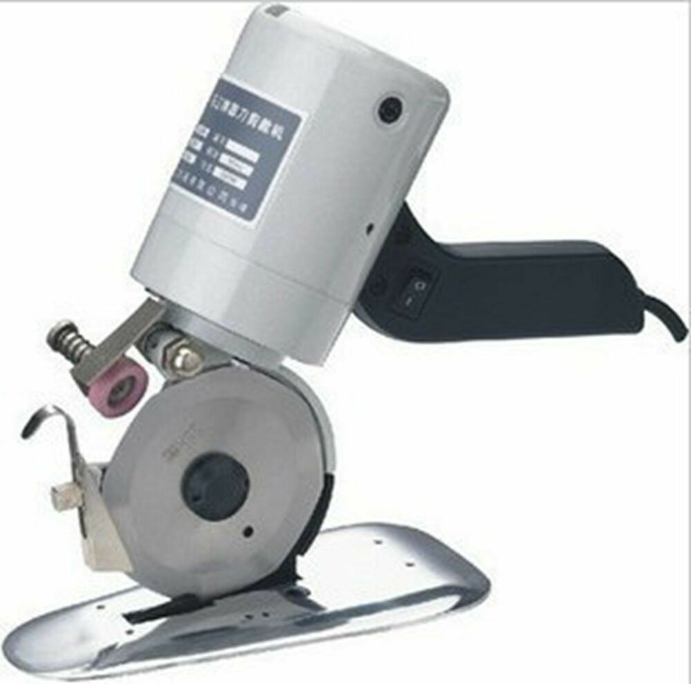 220v 90mm Cloth Cutter Fabric Cutting Machine Shear Ebay