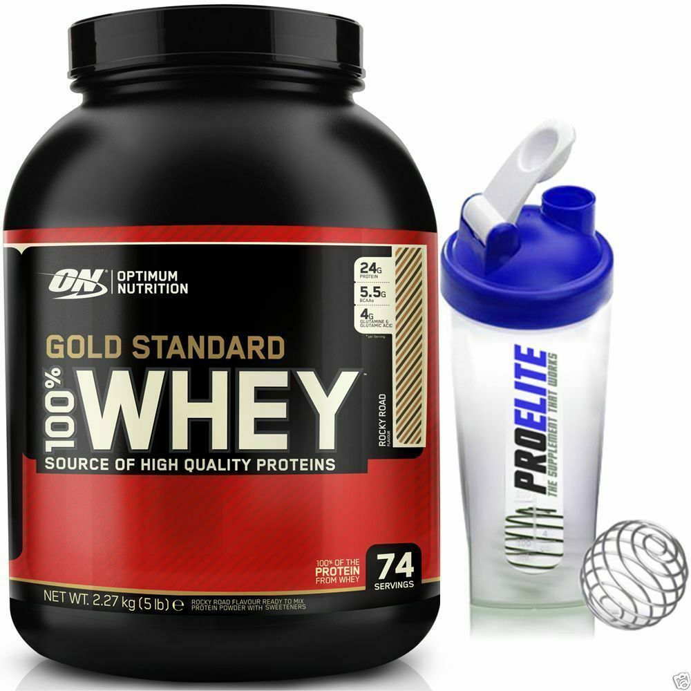 Optimum Nutrition 100% Gold Whey Protein 5lb / 2700G