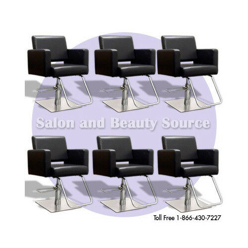 Styling chair beauty salon equipment furniture package ebay for Salon furniture makeup station
