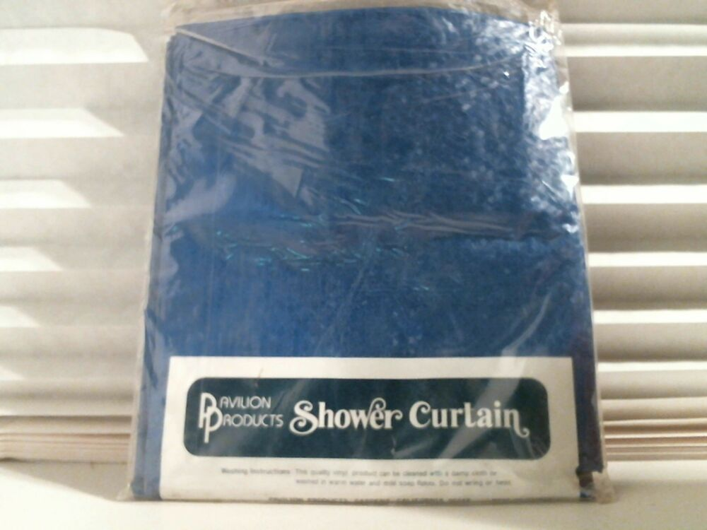 T8 Shower Curtain 203 Twinkle Blue Vinyl | eBay