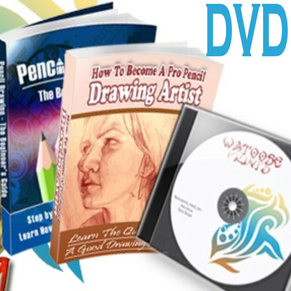 How to draw paint 70 pdf learn drawing painting dvd ebay for Learning to paint and draw