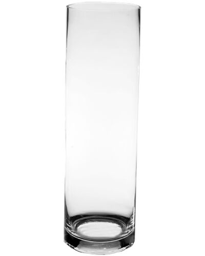Clear Glass Cylinder Vase H 20 Quot X D 6 Quot Wedding Centerpiece