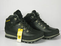 MENS CATERPILLAR LACE UP BLACK ANKLE BOOT 'P713364' SIZE 6