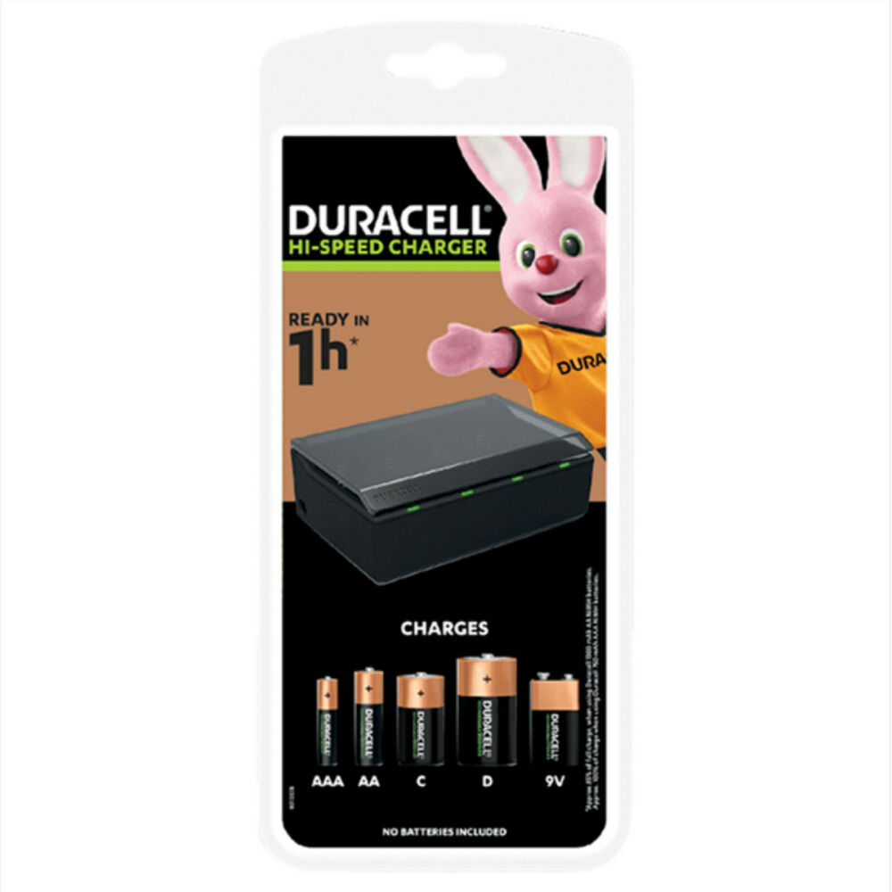 duracell fast 1 hour universal battery charger for aaa aa. Black Bedroom Furniture Sets. Home Design Ideas
