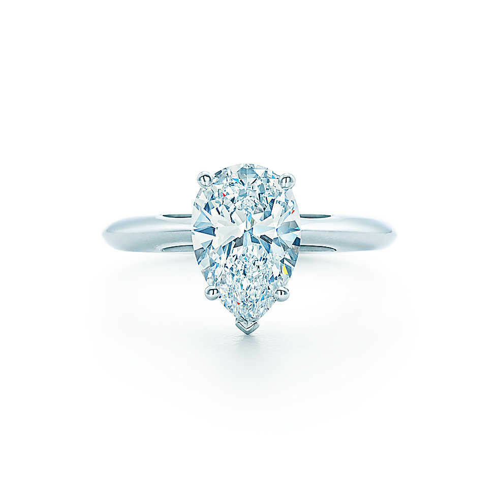 ct pear cut diamond solitaire engagement ring 14k ebay. Black Bedroom Furniture Sets. Home Design Ideas
