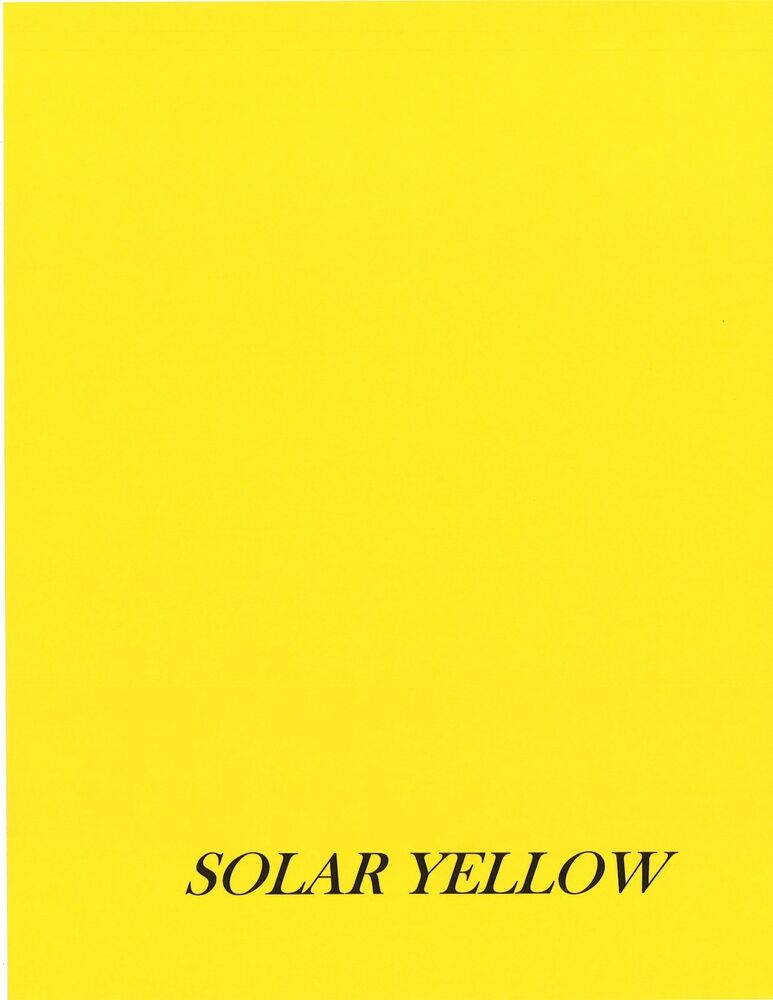 Sheets Astrobright Cardstock Solar Yellow