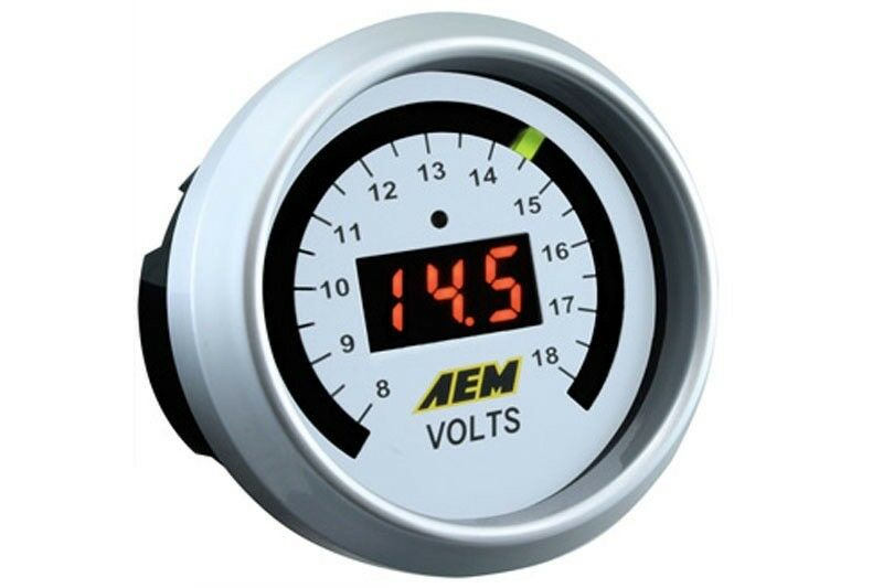 Digital Voltmeter Kit : Aem gauge kit digital voltmeter to v  ebay