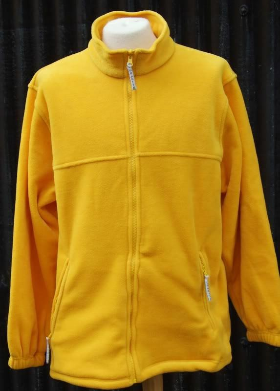 Granite Active Yellow Fleece Jacket (M) - NEW & FREE PP | eBay