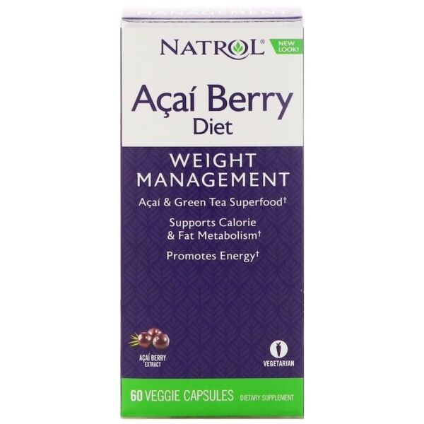 Natrol ACAI Berry Diet x60Vcap - METABOLIC ACTIVATOR BLEND