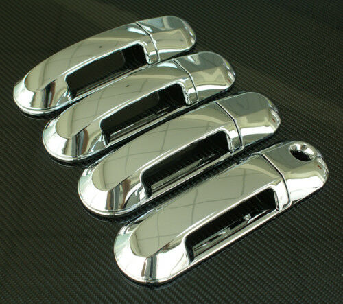 2003 2005 Lincoln Aviator Chrome Door Handle Cover Ebay