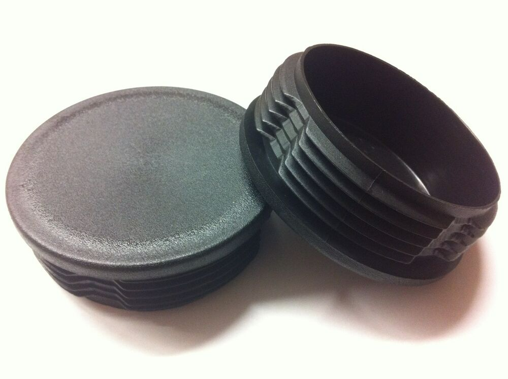 Plastic blanking end caps round tube inserts mm ebay