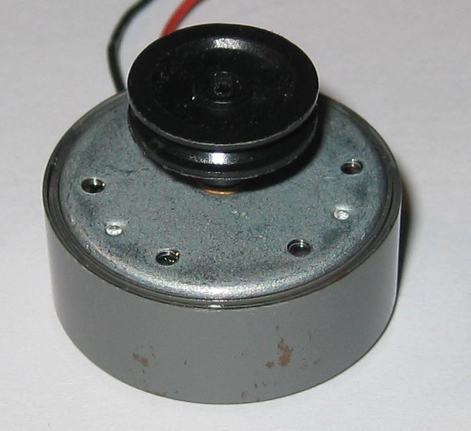 Dc motor with pulley 6v 12400 rpm low current ebay for Low rpm motor dc