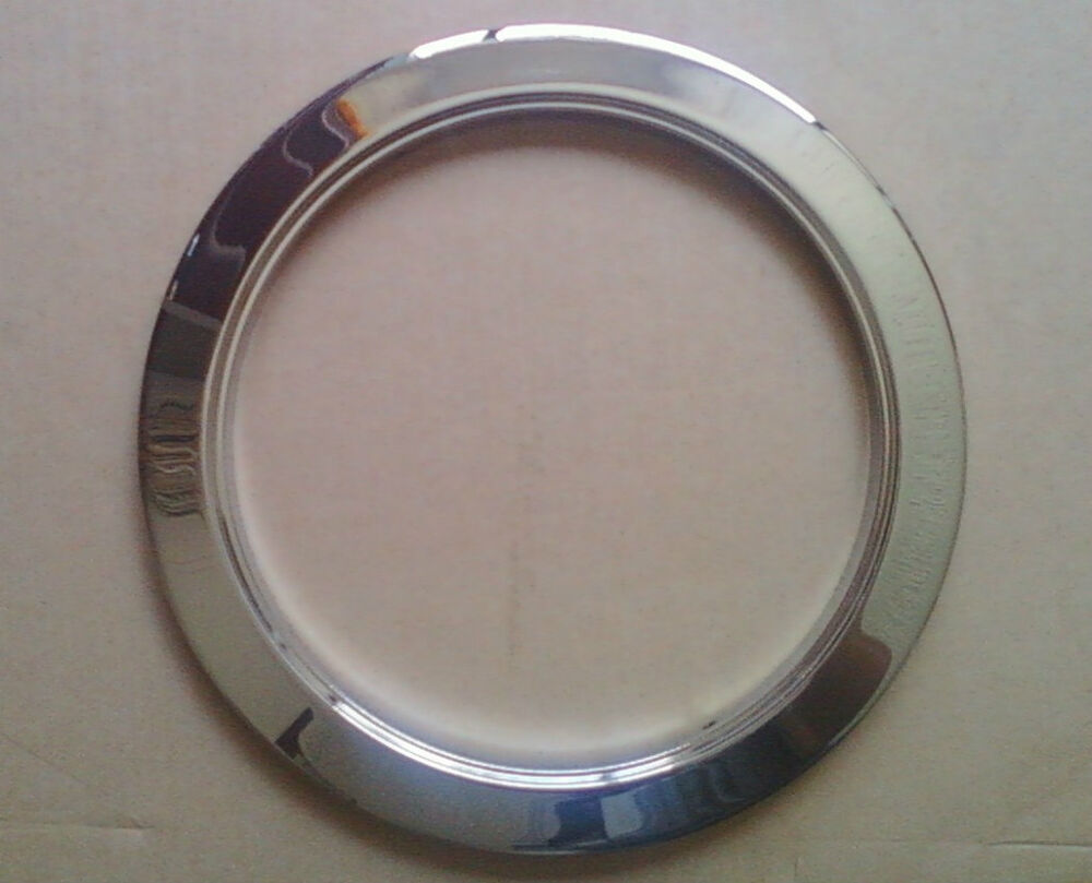 inch recessed can light trim ring reflector chrome ebay. Black Bedroom Furniture Sets. Home Design Ideas
