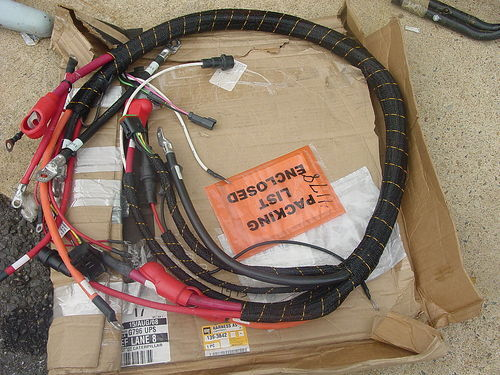 Caterpillar wiring harness assembly new ebay